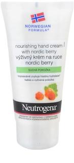 Neutrogena NordicBerry поживний крем для рук