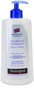 Neutrogena Sensitive hĺbkovo hydratačné telové mlieko pre suchú a citlivú pokožku