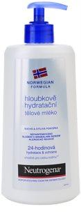 Neutrogena Norwegian Formula® Deep Moisture mélyhidratáló testápoló tej száraz és érzékeny bőrre
