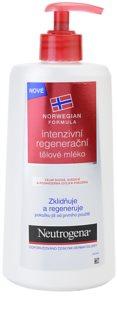 Neutrogena Norwegian Formula® Intense Repair intenzív regeneráló testápoló tej száraz és érzékeny bőrre