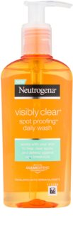 Neutrogena Visibly Clear Spot Proofing gel nettoyant visage