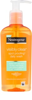 Neutrogena Visibly Clear Spot Proofing gel facial limpiador