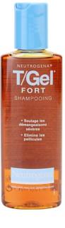 Neutrogena T/Gel Forte шампунь проти лупи для сухої шкіри голови зі свербінням