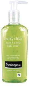 Neutrogena Visibly Clear Pore & Shine Reinigungsgel  gegen ein glänzendes Gesicht und erweiterte Poren