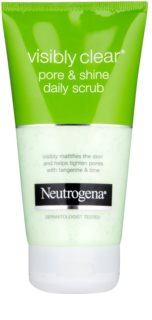 Neutrogena Visibly Clear Pore & Shine exfoliante facial  para uso diario