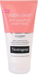 Neutrogena Visibly Clear Pink Grapefruit кремова очищуюча емульсія