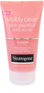 Neutrogena Visibly Clear Pink Grapefruit скраб