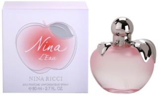 Nina Ricci Nina L'Eau Eau Fraiche toaletná voda pre ženy 80 ml