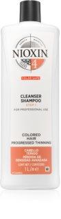 Nioxin System 4 jemný šampón pro farbené a poškodené vlasy