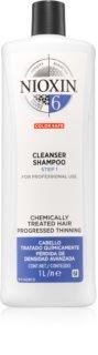 Nioxin System 6 очищуючий шампунь для волосся пошкодженого хімічним шляхом