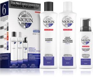 Nioxin System 6 Kosmetik-Set  für schütteres Haar