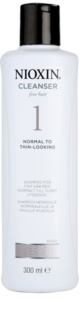Nioxin System 1 shampoing pour cheveux fins
