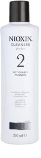 Nioxin System 2 sampon a finom természetes haj jelentős elvékonyodása ellen