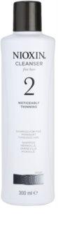Nioxin System 2 šampon pro výrazné řídnutí jemných přírodních vlasů