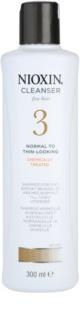 Nioxin System 3 sampon vegyileg kezelt finom haj kezdeti enyhe elvékonyodása ellen