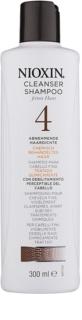 Nioxin System 4 Shampoo für stark ausfallende, empfindliche und chemisch behandelte Haare