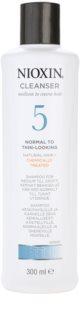 Nioxin System 5 shampoo detergente per il lieve diradamento di capelli normali e forti, naturali e trattati chimicamente