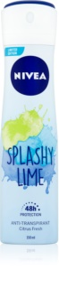Nivea Splashy Lime antiperspirant ve spreji 48h