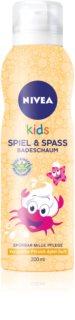 Nivea Kids Bio Aloe Vera піна для душу для дітей