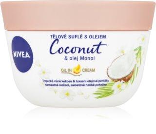 Nivea Coconut & Monoi Oil Body Souffle