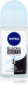 Nivea Invisible Black & White Pure antitranspirante roll-on