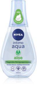 Nivea Intimo Aloe espuma hidratante para la higiene íntima
