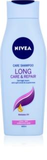Nivea Long Care & Repair грижовен шампоан за суха и увредена коса