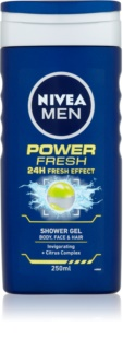 Nivea Power Refresh gel za prhanje