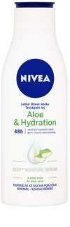 Nivea Aloe Hydration Light Body Milk With Aloe Vera