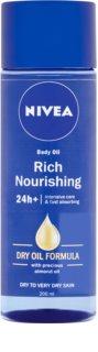 Nivea Rich Nourishing поживна олійка для тіла