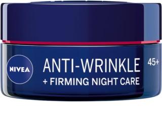 Nivea Anti-Wrinkle Firming crema notte rassodante antirughe 45+