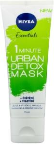 Nivea Urban Skin детоксикираща почистваща маска