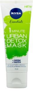 Nivea Urban Skin maschera detossinante e detergente
