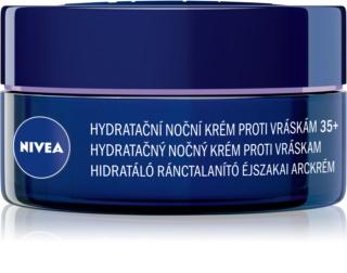Nivea Anti-Wrinkle Moisture creme hidratante de noite antirrugas 35+