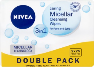 Nivea Micellar Cleansing Micellar Face Wipes 3 in 1