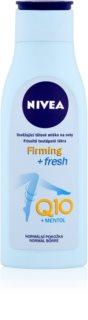 Nivea Q10 Plus osvežilni losjon za telo za noge