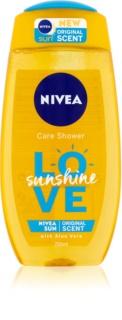 Nivea Love Sunshine gel de duche refrescante com aloe vera