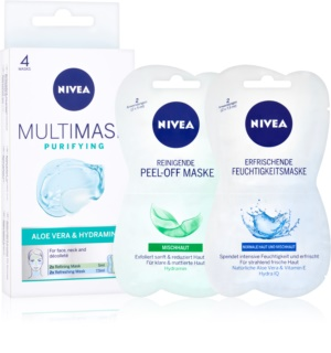 Nivea Multi-Mask masque purifiant visage à l'aloe vera