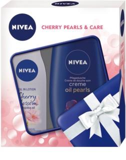 Nivea Cherry Blossom & Jojoba Oil set cosmetice I.