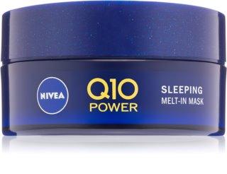 Nivea Q10 Power нічна відновлювальна маска для обличчя з коензимом Q10