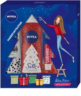 Nivea Silk Mousse Sweet Snowflakes kozmetika szett I.