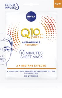 Nivea Q10 Plus C Anti-Wrinkle Cloth Mask