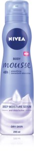 Nivea Deep Moisture Body Mousse For Dry Skin