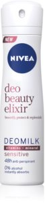 Nivea Deo Beauty Elixir Sensitive Antiperspirant Spray