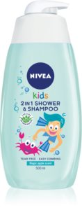 Nivea Kids Magic Apple sampon és tusfürdő gél gyermekeknek