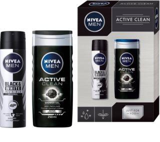Nivea Men Active Clean подаръчен комплект X. (за мъже)