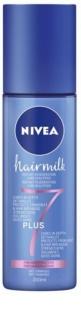 Nivea Hairmilk 7 Plus après-shampoing régénérant sans rinçage pour cheveux fins
