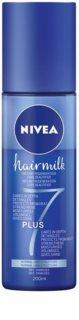 Nivea Hairmilk 7 Plus après-shampoing régénérant sans rinçage pour cheveux normaux