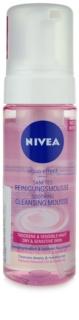 Nivea Aqua Effect čistilna pena za občutljivo in suho kožo