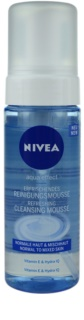 Nivea Aqua Effect Refreshing Cleansing Foam For Normal To Mixed Skin